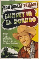 Sunset in El Dorado - Re-release poster (xs thumbnail)