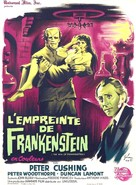 The Evil of Frankenstein - French Movie Poster (xs thumbnail)