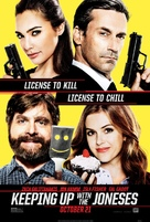 Keeping Up with the Joneses - Movie Poster (xs thumbnail)