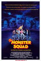 The Monster Squad - Video release movie poster (xs thumbnail)