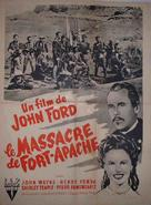 Fort Apache - French Movie Poster (xs thumbnail)