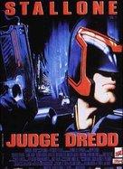 Judge Dredd - French Movie Poster (xs thumbnail)