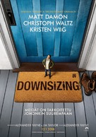 Downsizing - Finnish Movie Poster (xs thumbnail)