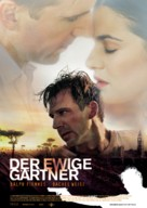 The Constant Gardener - German Movie Poster (xs thumbnail)