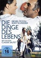 Choses de la vie, Les - German Movie Cover (xs thumbnail)