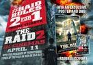 Serbuan maut - British Video release poster (xs thumbnail)