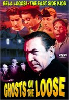 Ghosts on the Loose - DVD cover (xs thumbnail)