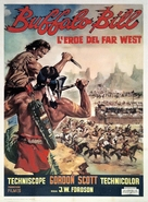 Buffalo Bill, l'eroe del far west - Italian Movie Poster (xs thumbnail)