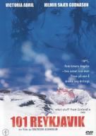 101 Reykjavík - Norwegian DVD movie cover (xs thumbnail)