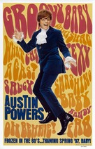 Austin Powers: International Man of Mystery - Advance movie poster (xs thumbnail)