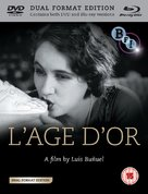 L'âge d'or - British Blu-Ray cover (xs thumbnail)