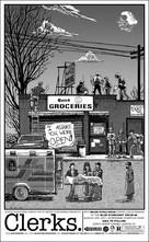 Clerks. - Homage poster (xs thumbnail)