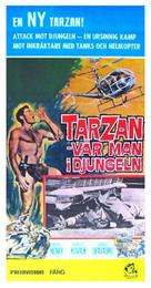 Tarzan and the Valley of Gold - Swedish Movie Poster (xs thumbnail)