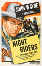The Night Riders - Re-release poster (xs thumbnail)