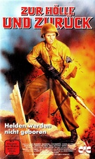 To Hell and Back - German VHS movie cover (xs thumbnail)