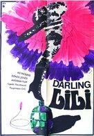 Darling Lili - Hungarian Movie Poster (xs thumbnail)