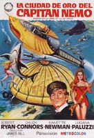 Captain Nemo and the Underwater City - Spanish Movie Poster (xs thumbnail)