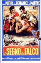 The Mark of the Hawk - Italian Movie Poster (xs thumbnail)