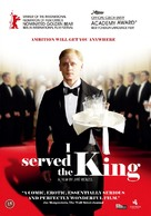 Obsluhoval jsem anglickèho krále - Danish DVD cover (xs thumbnail)