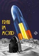 Frau im Mond - German Movie Cover (xs thumbnail)