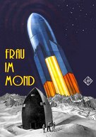 Frau im Mond - German Movie Cover (xs thumbnail)