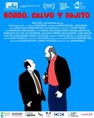 Gordo, calvo y bajito - Colombian Movie Poster (xs thumbnail)