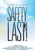 Safety Last! - Re-release poster (xs thumbnail)