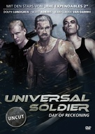 Universal Soldier: Day of Reckoning - German DVD movie cover (xs thumbnail)