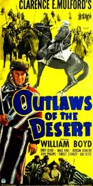 Outlaws of the Desert - Movie Poster (xs thumbnail)
