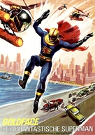 Goldface, il fantastico superman - German Movie Poster (xs thumbnail)