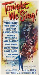 Tonight We Sing - Movie Poster (xs thumbnail)