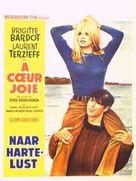À coeur joie - Belgian Movie Poster (xs thumbnail)
