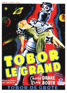 Tobor the Great - Belgian Movie Poster (xs thumbnail)