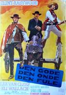 Il buono, il brutto, il cattivo - Swedish Movie Poster (xs thumbnail)