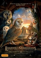 Legend of the Guardians: The Owls of Ga'Hoole - Australian Movie Poster (xs thumbnail)