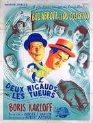 Abbott and Costello Meet the Killer, Boris Karloff - French Movie Poster (xs thumbnail)