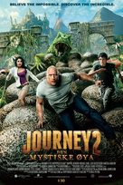 Journey 2: The Mysterious Island - Norwegian Movie Poster (xs thumbnail)