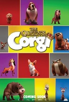 The Queen's Corgi - British Movie Poster (xs thumbnail)