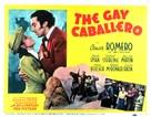 The Gay Caballero - Movie Poster (xs thumbnail)