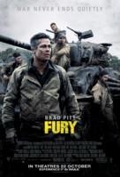 Fury - Singaporean Movie Poster (xs thumbnail)
