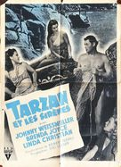 Tarzan and the Mermaids - French Movie Poster (xs thumbnail)