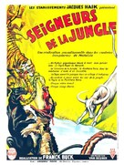 Fang and Claw - French Movie Poster (xs thumbnail)