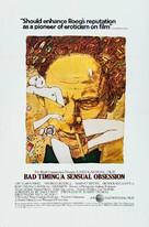 Bad Timing - Movie Poster (xs thumbnail)