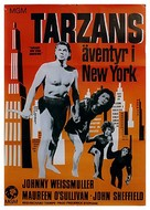 Tarzan's New York Adventure - Swedish Movie Poster (xs thumbnail)