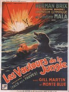 Hawk of the Wilderness - French Movie Poster (xs thumbnail)