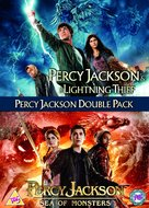 Percy Jackson: Sea of Monsters - British DVD movie cover (xs thumbnail)