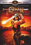 Conan The Destroyer - Spanish Movie Cover (xs thumbnail)