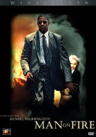 Man On Fire - DVD cover (xs thumbnail)