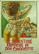 The Amorous Adventures of Don Quixote and Sancho Panza - Italian Movie Poster (xs thumbnail)