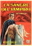 Blood of the Vampire - Spanish Movie Poster (xs thumbnail)
